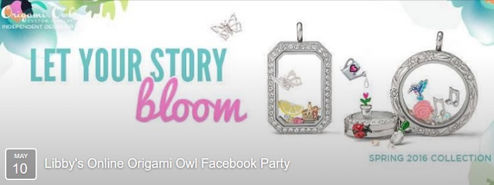 You're Invited to my Origami Owl Jewelry Party