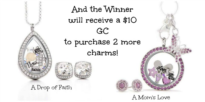 Origami Owl Giveaway Prize