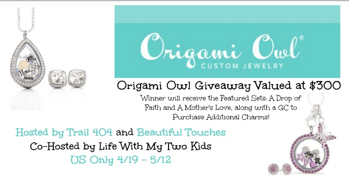 Origami Owl Giveaway ARV $300