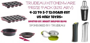Trudeau Kitchenware Prize Pack