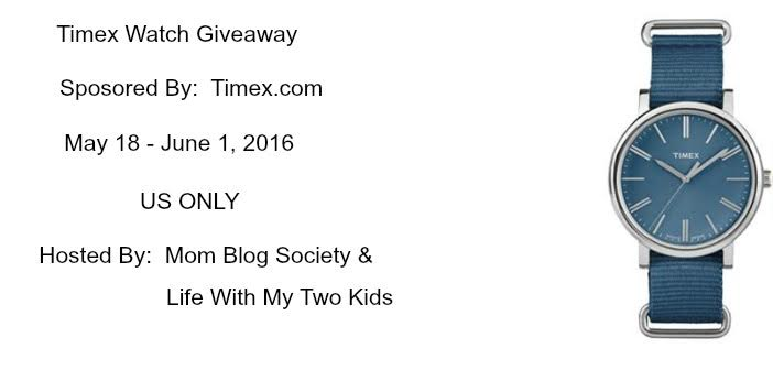 Timex Watch Giveaway