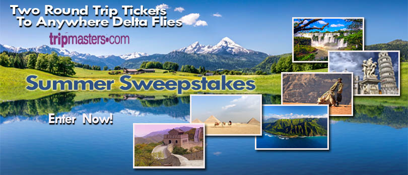 Sweepstakes:  2 tickets anywhere Delta Flies
