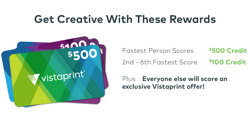 VistaPrints is having something Huge!