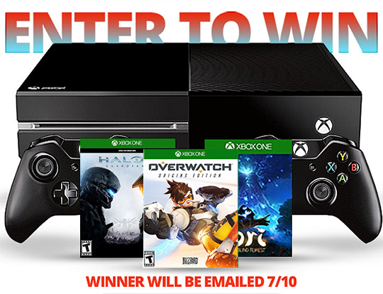 Xbox One 1 TB Prize Pack Ends July 10
