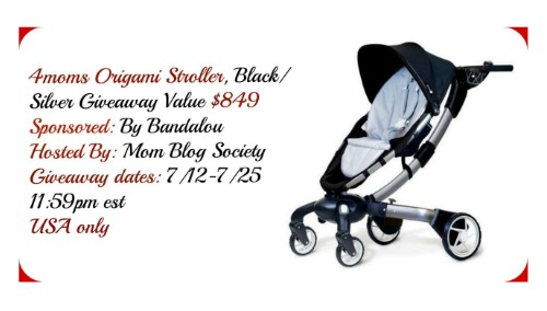 4moms Origami Stoller Giveaway