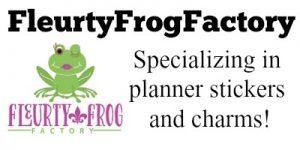 Fleurty Frog
