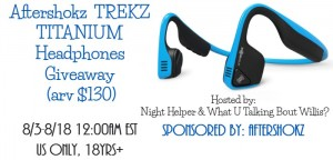 Aftershokz Trekz Titanium Headphones Giveaway