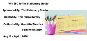 The Stationery Studio Giveaway