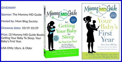 Mommy MD Guide Baby Book Giveaway
