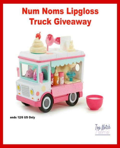 Num Nom Lipgloss Truck Giveaway
