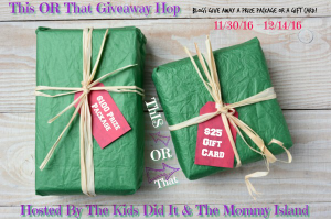 2nd Annual This or That Giveaway Hop