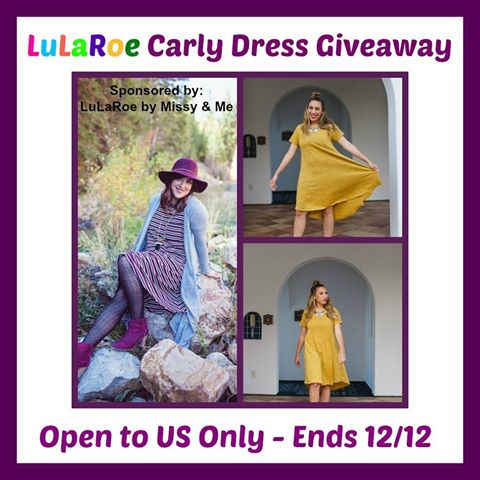 LuLaRoe Carly Dress Giveaway