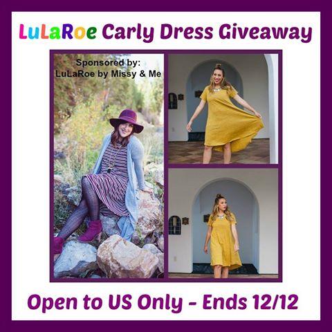 LuLaRoe Carly Dress Giveaway