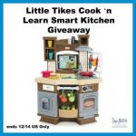 Little Tikes Cook 'n Learn Smart Kitchen Giveaway