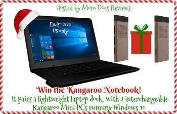 Kangaroo Notebook- $300 arv  Giveaway