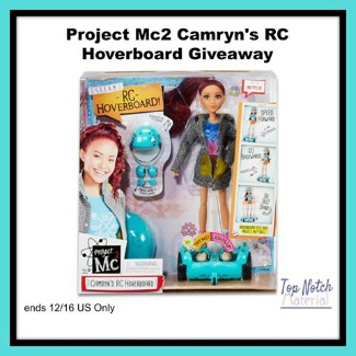 Project Mc2 Camryn's RC Hoverboard Giveaway