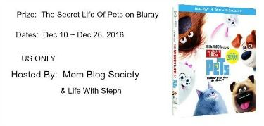 The Secret Life of Pets Giveaway