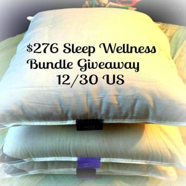 $276 Sleep Wellness Bundle Giveaway