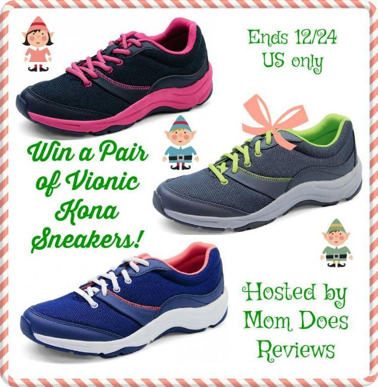 9db67b930e90 Vionic Kona Sneakers Giveaway