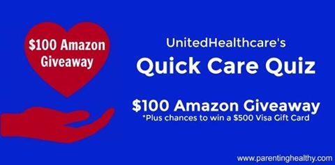 UnitedHealthcare Quick Care Quiz Giveaway