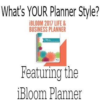 What's You're Planner Style the iBloom Planner