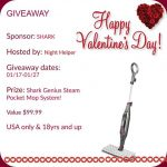 Shark Genius Steam Pocket Mop System Giveaway