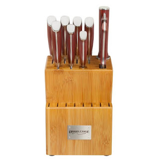 Ergo Chef Exclusive Crimson G10 10 Piece Cutlery Set Giveaway