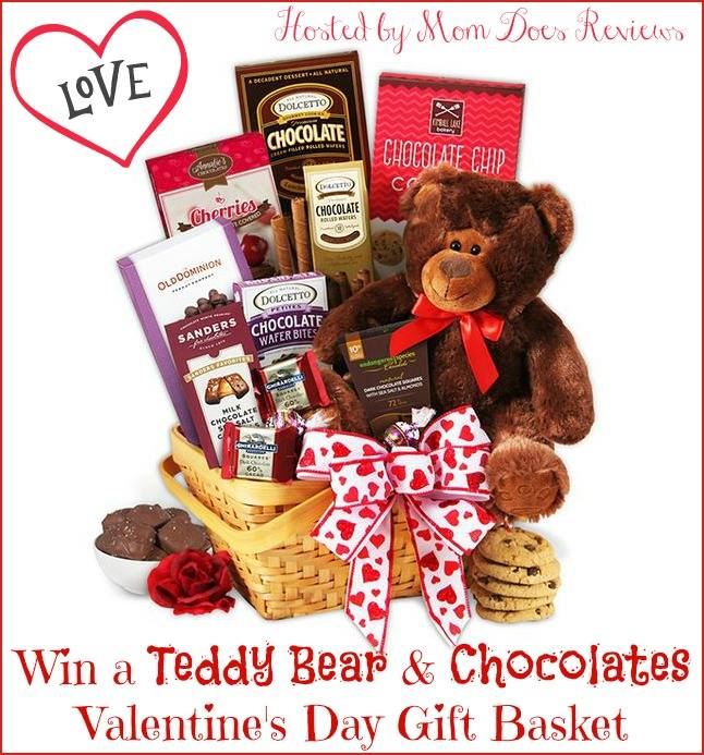 Valentine's Day Gift Basket Giveaway