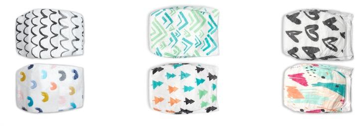 Parasol Diaper Designs