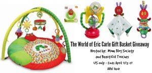 Eric Carle Gift Basket Giveaway ARV $150