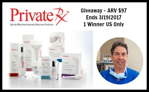 Dr. Blatt's PrivateRX Giveaway
