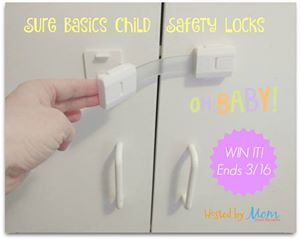 Sure Basics Toddler Safety Lock Giveaway