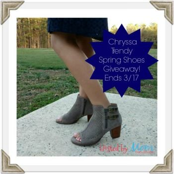 Chryssa Trendy Spring Shoes Giveaway