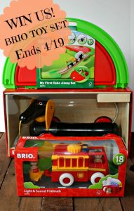 BRIO Set Giveaway