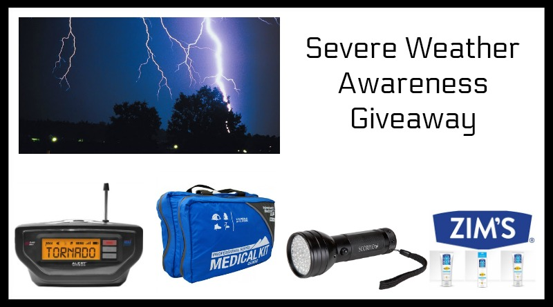 Severe Weather Awareness Giveaway