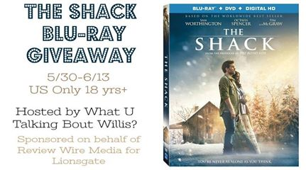 The Shack Blu-Ray Giveaway