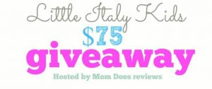 Little Italy Kids Giveaway