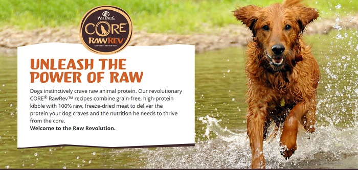 Feeding My Dogs Wellness® CORE® RawRev™