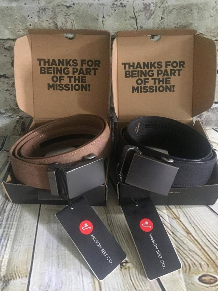 Mission Belt Giveaway
