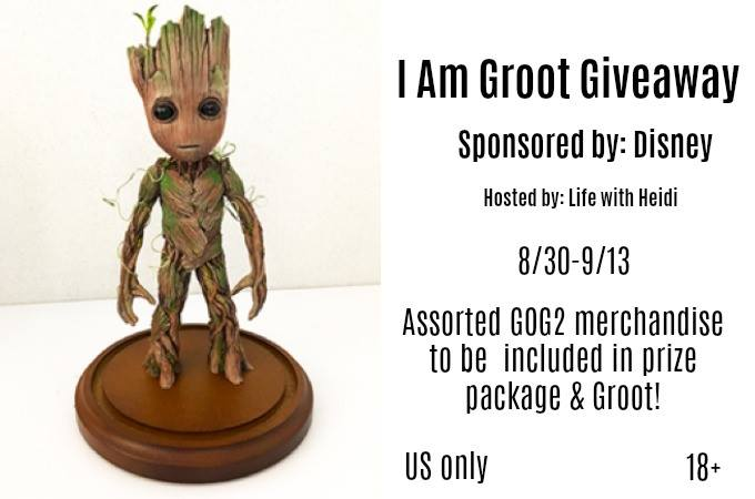 I am Groot Giveaway