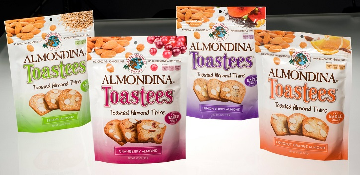 Almondina Snacks that Taste AWESOME