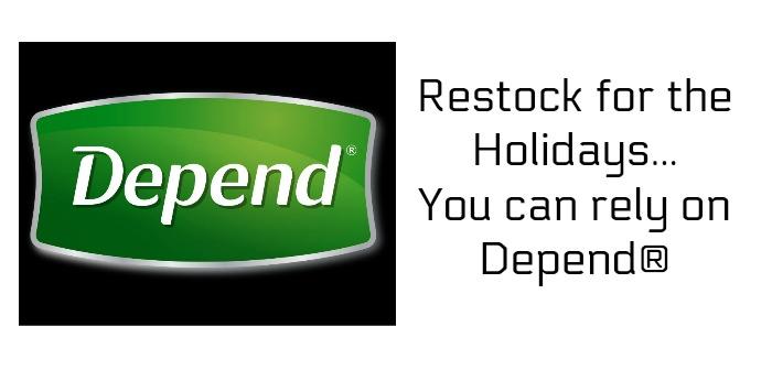 Lift Cough Sneeze Oooops: Restock Depend®