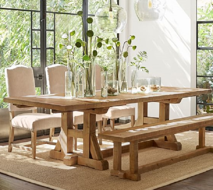 Giving Your Dining Room The Solid Wood Treatment