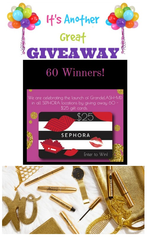 GrandeLASH-MD: Sephora Giveaway 60 Winners