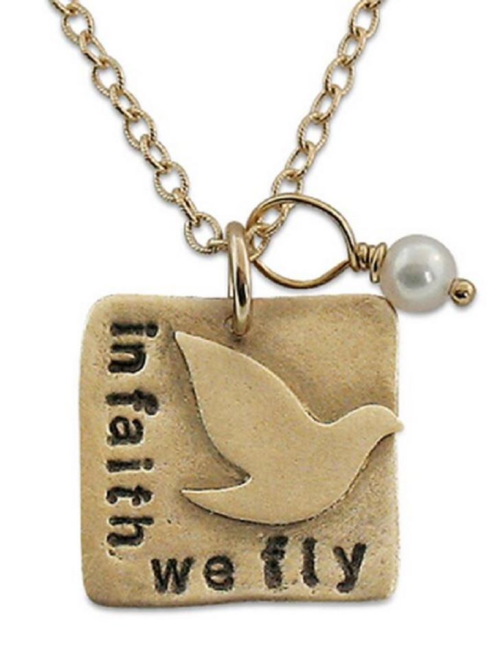 In Faith We Fly by Isabelle Grace Jewelry