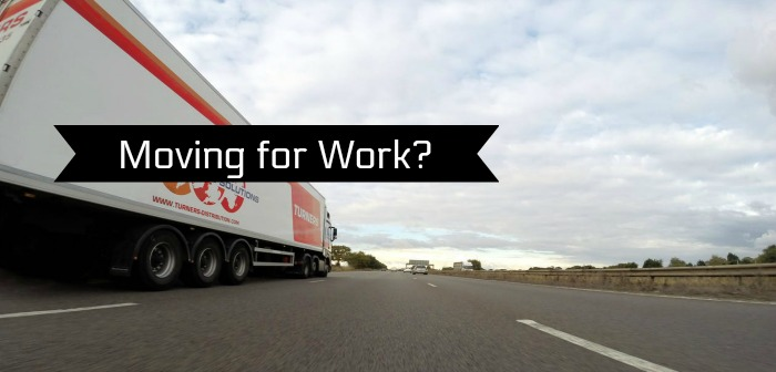 Moving For Work? How To Make The Move As Easy As Possible