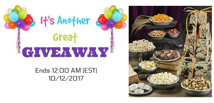 Popcorn Factory Fright Night 7-Tier Tower Giveaway