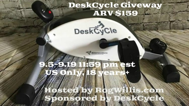 Enter to Win Your Own DeskCycle (arv $159)