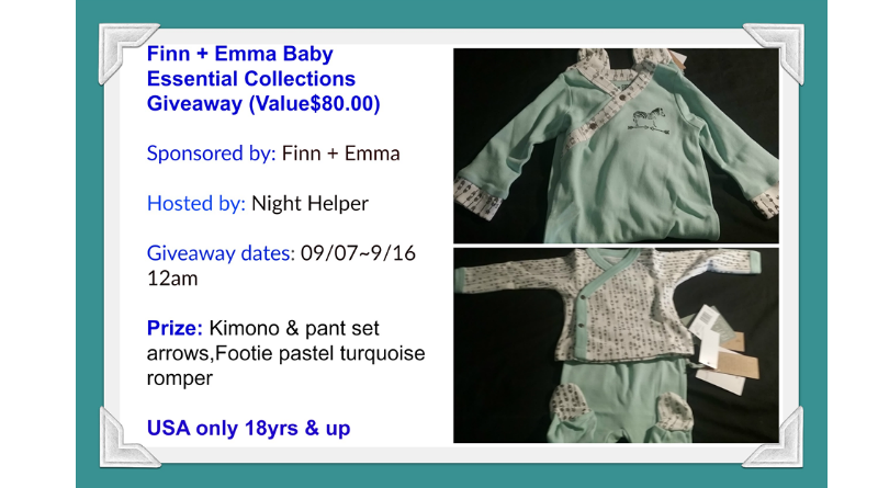 Finn + Emma Baby Essential Collection Giveaway