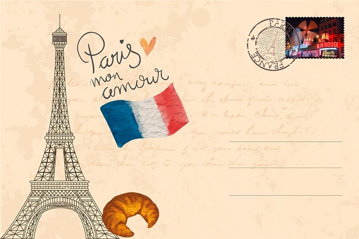 Postcard from Paris - Stay In Touch With Loved Ones